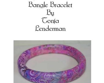 Learn To Make Scrap Mokume Gane Bangle Bracelets In Polymer Clay