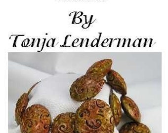 Learn To Make Textural Lentil Beads In Polymer Clay