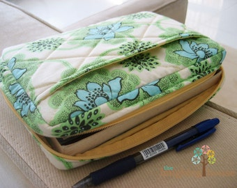 Bible/Journal Cover w Zipper (Your Choice of Fabric)