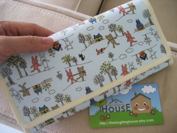 Cash Budgeting Purse (Country Rabbits & Bears)