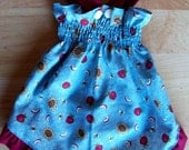 Dog Sun dress sz small