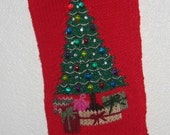 Personalized Oh Christmas Tree Stocking