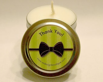 Thank You Gift Favor Candles