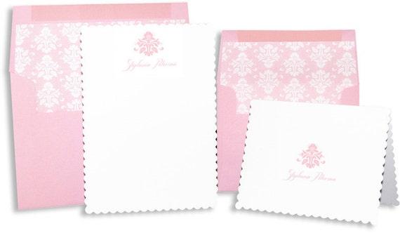 Pink Spring Stationery