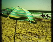 Beach Umbrella Card - Blank Inside