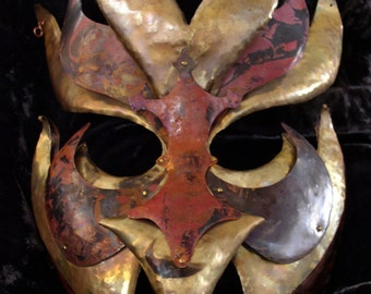 Elihu-decorative mask