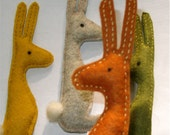The Andy Rabbit is a handsewn companion