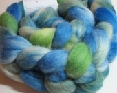 SALE Corriedale Wool Handpainted Top Roving Spinning Felting 117235