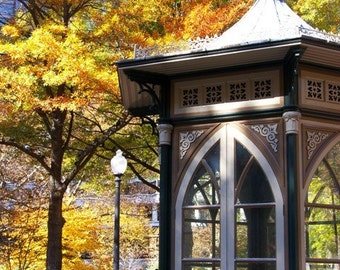 Rittenhouse Square with Beautiful Fall Foliage Photograph