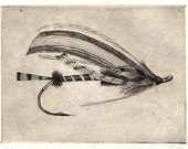 Silver Doctor - Salmon Fly Etching