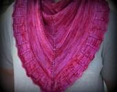 It's Good to Be a Girl Knit Shawl Pattern (PDF)