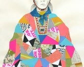 Sami Woman Art Print - Lisa Congdon