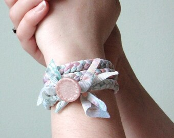 Wrap bracelet / headband - limited edition Light Air collection