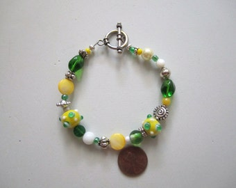 Lemon and Lime Bracelet