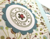 Thank You Flower Cards - Set of 4