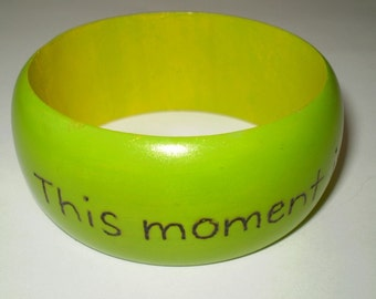 This Moment Wood Bangle