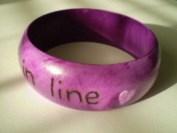 Fall In Love Not In Line Bangle