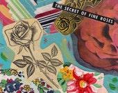 Fine Roses Collage Print -  Vintage Urban Girl