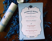 10 - The GRADUATE Announcements or Invitations - Any Color