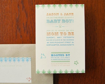 10 Cirque Invitations by Earmark - Great for Showers, Birthdays and more