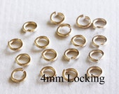 20 pcs - 20g  4mm  14k Gold Filled Open Jump Ring