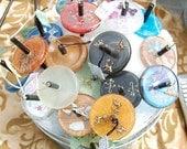 Buyers Choice - Handmade Resin Top Whorl Drop Spindle Kit