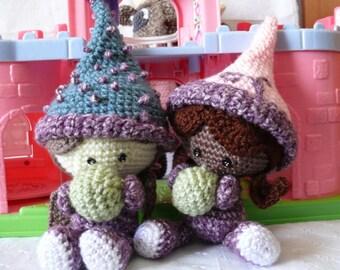Princess and The Pea Crochet Pattern PDF
