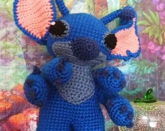 Stitch crochet pattern PDF