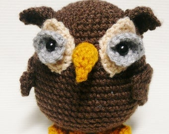 Woodland Owl Crochet Pattern