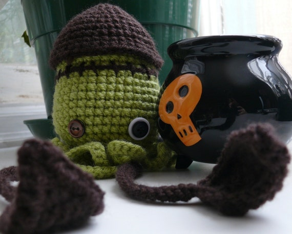 Franken-Squid Crochet Pattern PDF