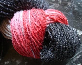 Crowley Superwash Merino Sock Yarn with Silver