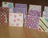 RESERVED for SugarFlower - 3 dozen mini cards
