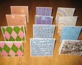 RESERVED for CosmicCleanBody - 4 dozen mini cards