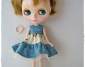 Dress with Roses and Tiers, for Blythe