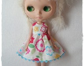Bright Flowers, Dress for Blythe