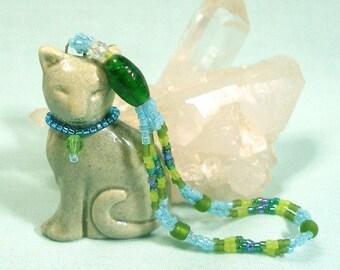 Spicy Grey Cat Ornament