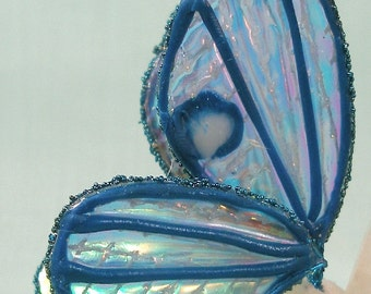Fancy Blue Wings for your Fairy or Artdoll