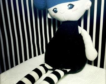 Katie - PDF Doll Pattern