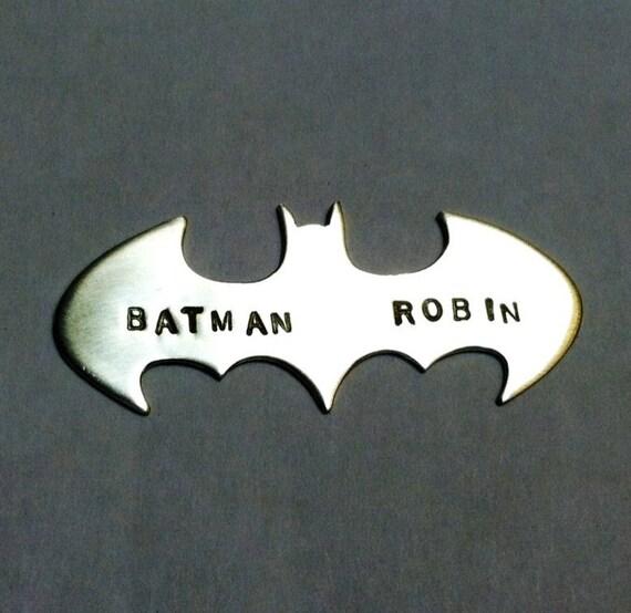 CUSTOM ORDER- Batman Best Friend necklaces,  DEPOSIT
