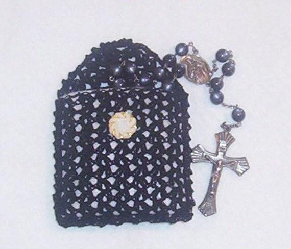 Crochet Rosary Bag Only New Crochet Patterns