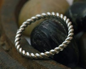 Thumb Ring - Silver Thumb Ring - Thumb Ring for Women - Stacking Ring - Eco Friendly Metal - Teen Tween Gift - Simple Everyday Ring R4016