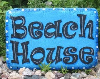 Beach House Decor, Beach Lover Gift, Beach Decor, Beach Cottage Decor, Garden Art, Outdoor Decoration, Beach Garden Decor, Outdoor Beach Art