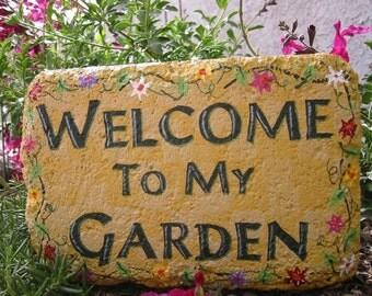 Best Friend Gift, Mother's Day gift, Birthday Gift, Gift for Her, Gardener Gift, Garden Decor, Yard Art, Outdoor Decor, Flowerbed Decor