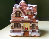 Wintertime Village Getaway - Set of 4 - SALE