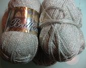 Patons Brilliant Yarn Five Skeins
