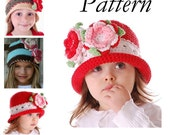 Boutique Crochet Braided Band Cloche Hat EBOOK\/Pattern