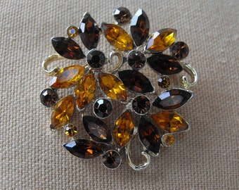 Vintage Brooch, DeLizza and Elster Juliana, ca 1960s NT-473