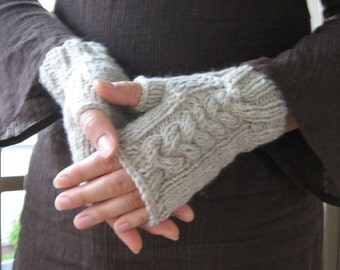 Au Natural wrist warmers
