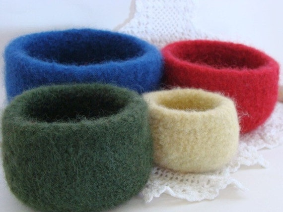 Nesting Bowls - Primary Colors