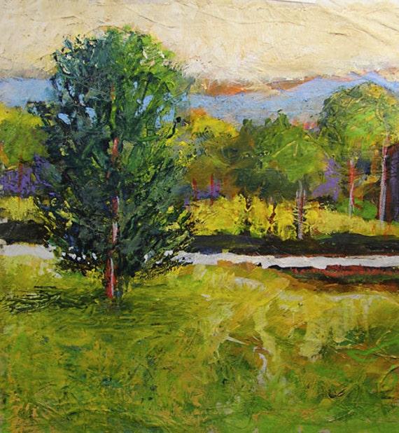Bobbi Doyle-Maher 100311 Southern Impressionist Landscape original  painting